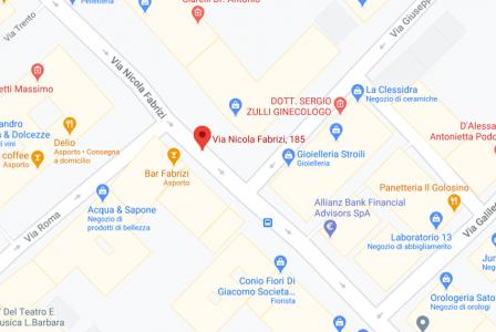 fld law pescara italian desk map